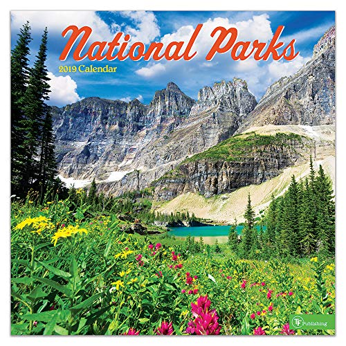 - 2019 National Parks Wall Calendar