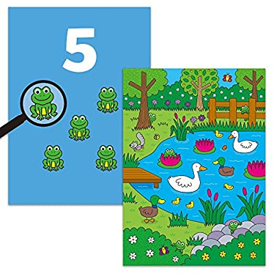 Galt Toys Water Magic Who's Hiding, Colouring Book for Children: Toys & Games