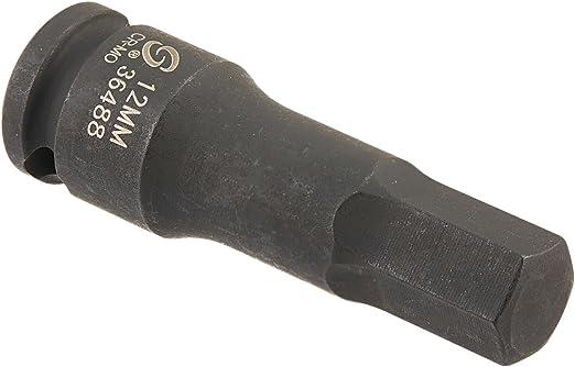 Sunex 26496 1//2-Inch Drive 12-mm Hex Impact Socket