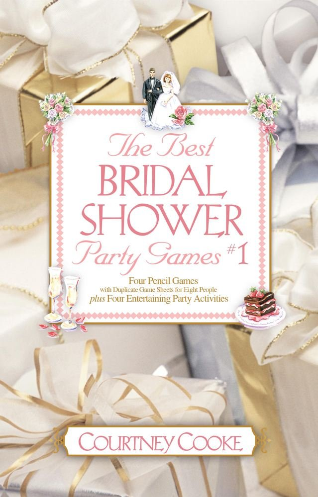 the best bridal shower party games activities 1 courtney cooke 9780671574963 amazoncom books
