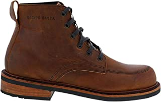 product image for Broken Homme Davis 2 Mens Leather Boots Brown 9.5 USA