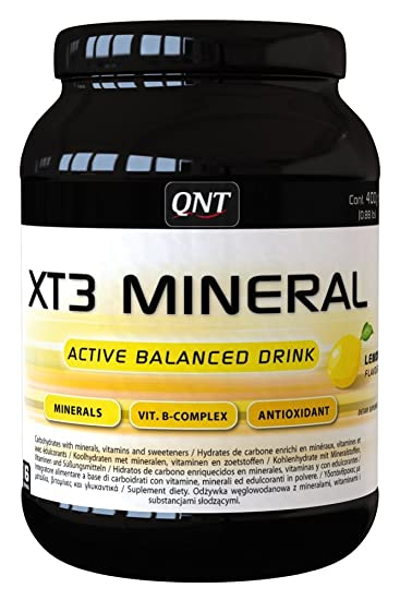 QNT XT3 Mineral 400 g Lemon Vitamin and Mineral Drink Powder