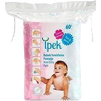 İpek Bebek Temizleme Pamuğu, Beyaz