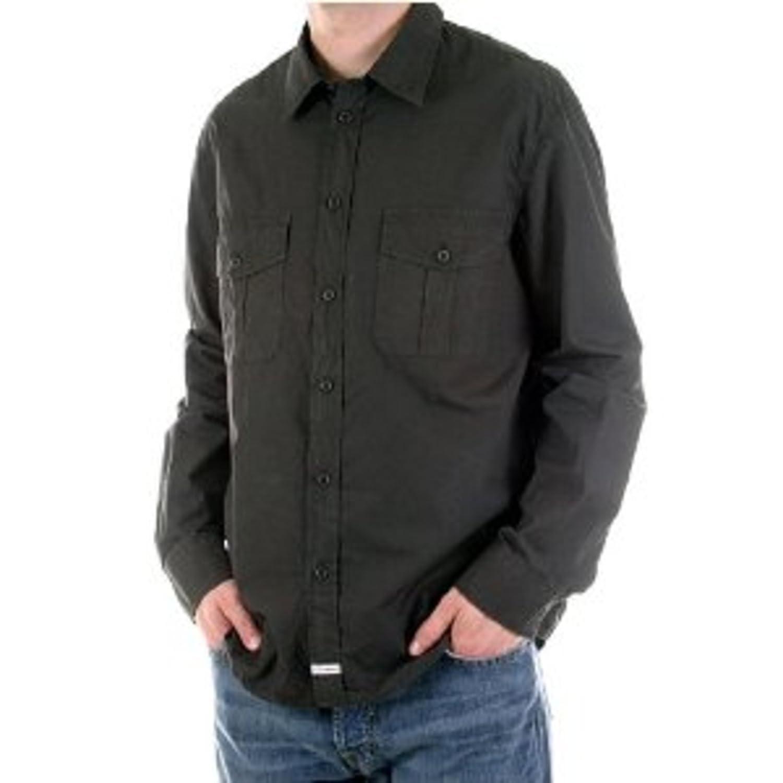 cp6775 PC Hardware Store CP Company para Hombre Manga Larga Camiseta de carb/ón de Lavado