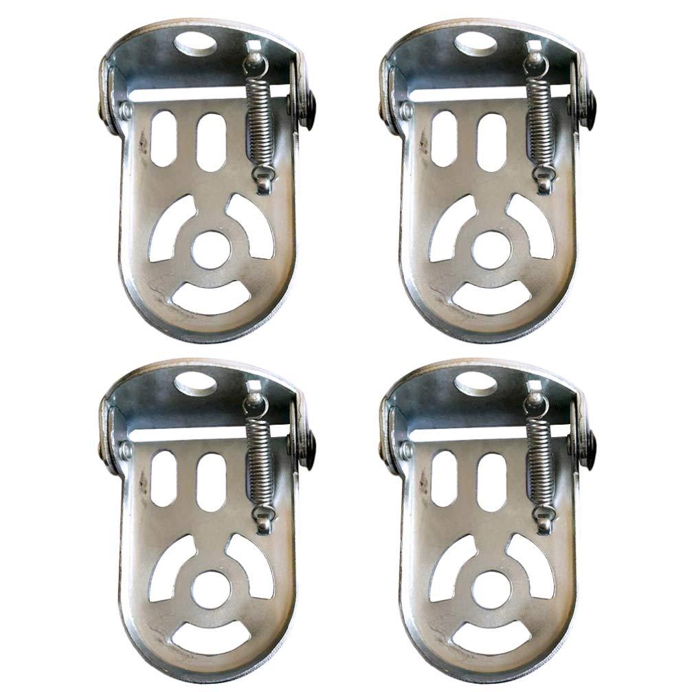 LIOOBO 4pcs Bicicleta reposapi/és Plegable reposapi/és Duradero reposapi/és Accesorio para Bicicleta para Bicicleta de monta/ña electrombile