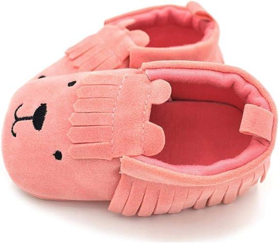 Chaussures Premier Pas Marche Doux Confortable DEBAIJIA Chausson de Marche B/éb/é en Cuir Nubuck Toile Mode Casual Semelle Antid/érapante pour Enfant Gar/çons Filles de 6-36 Mois