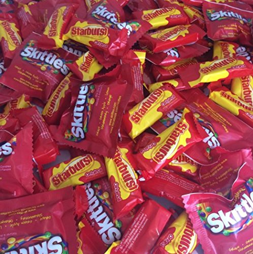 Skittles and Starburst Original Fun Size Candy Bag (2 pound) for $<!--$12.37-->
