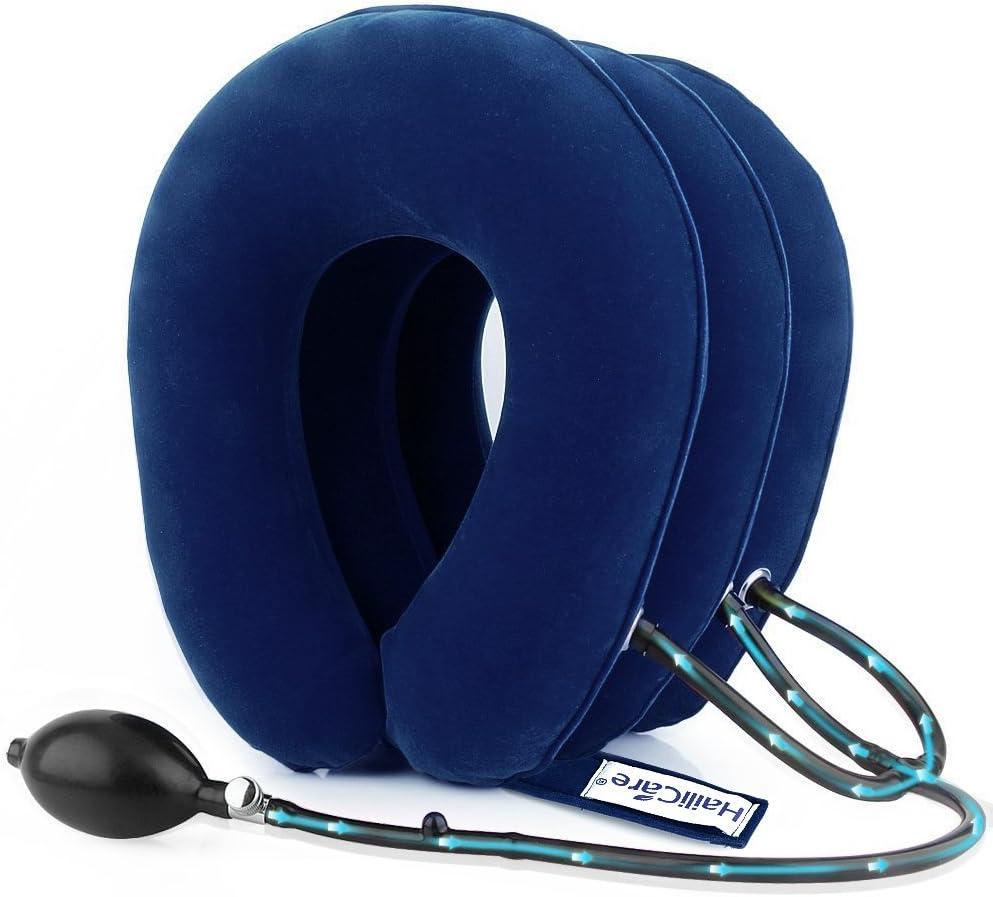 Dispositif De Traction protege Cou Gonflable PROTECTION Vertèbre Cervicale NEUF