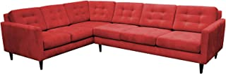 product image for Maxwell Large L Sectional LAF (Bennett Red)