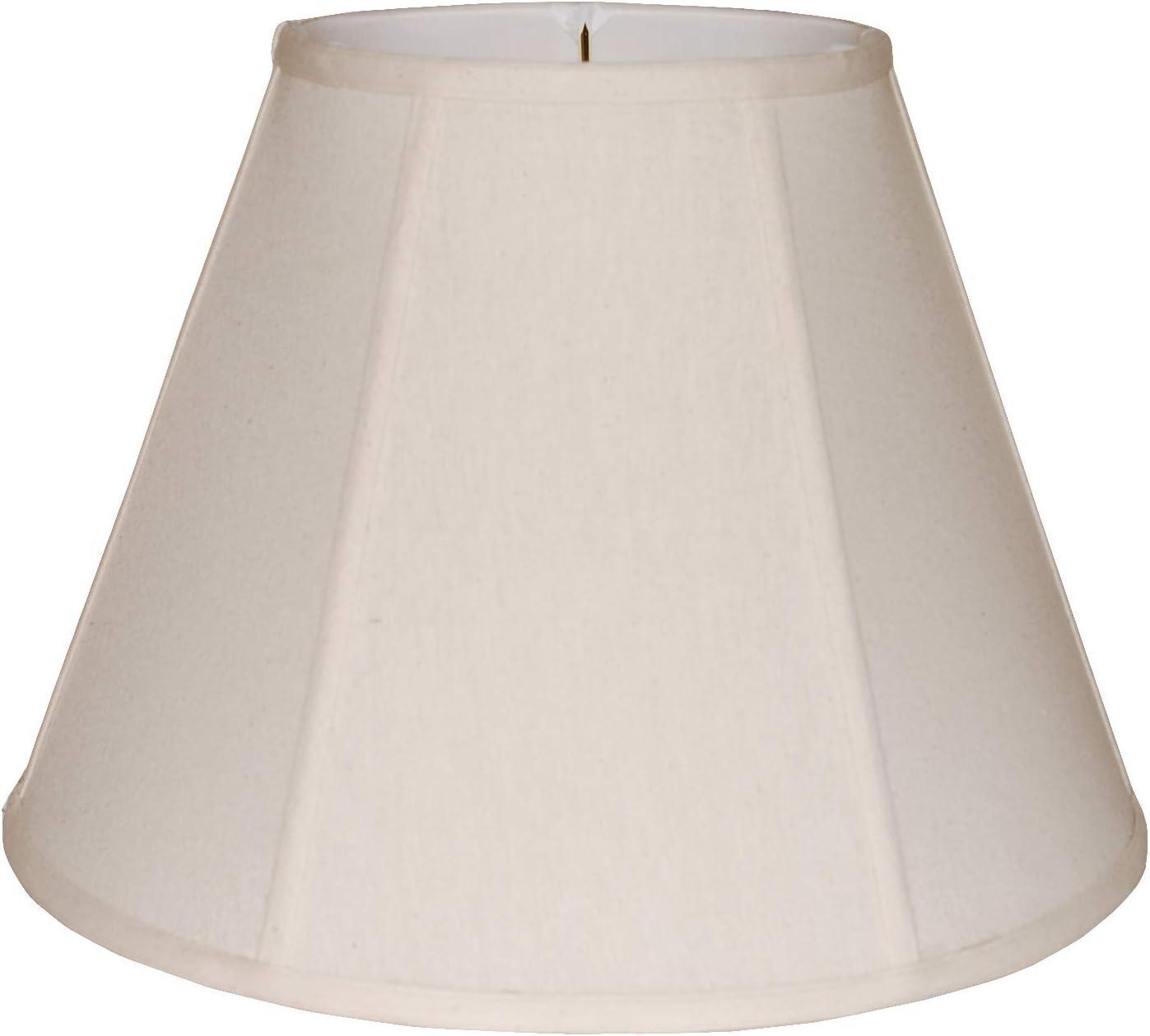 16 Empire Natural Linen Lamp Shade
