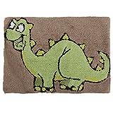Mucky Fingers Childrens Boys Dinosaur Design Bedroom Floor Rug/Mat (27.5 x 20in) (Brown)