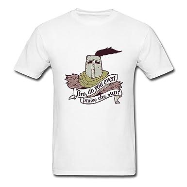 48c4e2544 Amazon.com: Hillet Men's Praise The Sun Cotton Graphic T-Shirt: Clothing