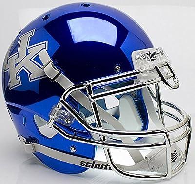 Kentucky Wildcats Authentic College XP Football Helmet Schutt - Licensed NCAA Memorabilia - Kentucky Wildcats Collectibles