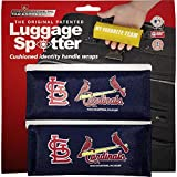 STL CARDINALS Luggage Spotter® Luggage Locator Handle Grip Luggage Grip Travel Bag Tag Luggage Handle Wrap (2PK) - CLOSEOUT! SELLING OUT FAST!