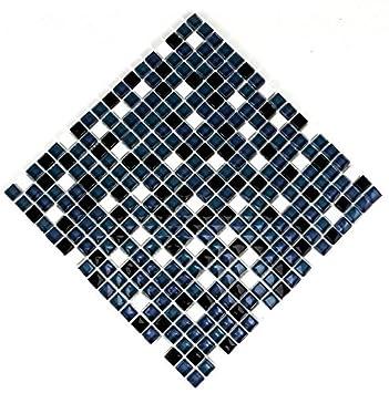 Fliesen Mosaik Mosaikfliesen Glas Glänzend Grau Silber Bad WC Küche - Mosaik fliesen grau glänzend