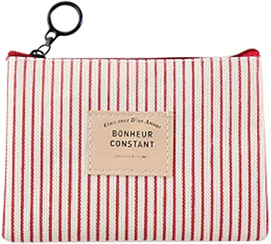 Samzary Pu Leather Cute Buckle Coin Purse Change Pouch for Women
