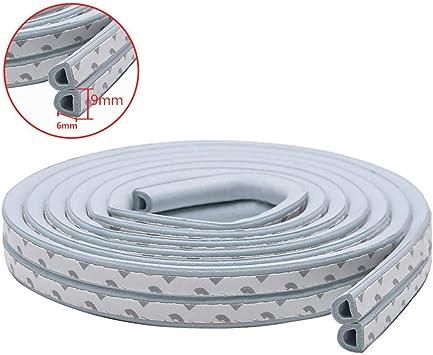 10m Type Diep Self Adhesive Door Sealing Strips Self Adhesive Window Foam Wind Waterproof Dustproof Sound Insulation Tools D Gray 10m 9 6 Amazon Ca Tools Home Improvement