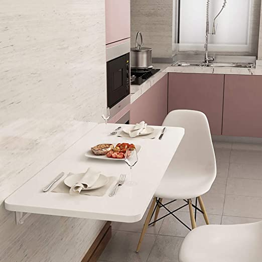 Mesa de Cocina Mesa de Madera Mesa Plegable de Pared Mesa de ...