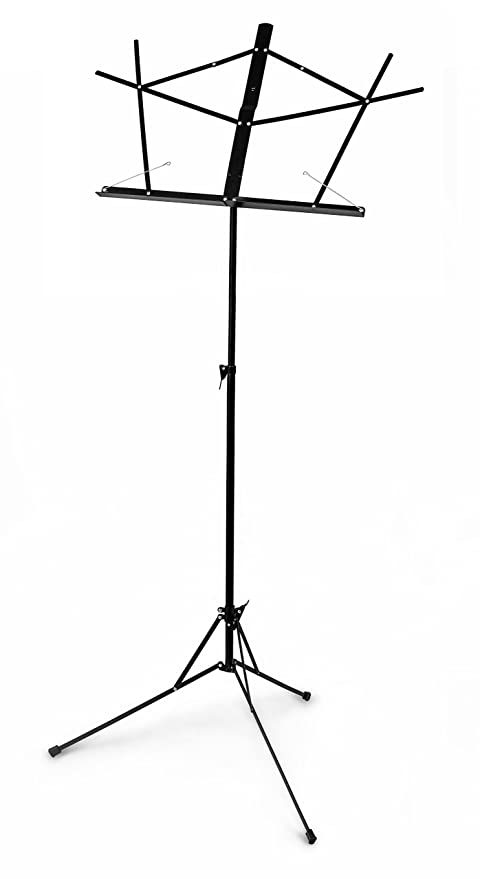 Beau Nomad NBS 1103 Lightweight Fixed Desk Music Stand With Bag