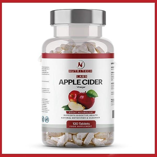 Vinagre de manzana 500 mg 60 cápsulas: Amazon.es: Salud y cuidado ...