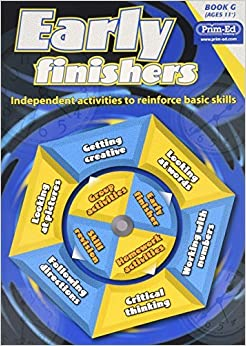Early Finishers: Bk. G: Independent Activities to Reinforce Basic Skills by Creative Teaching Press Inc. (2009-12-01)