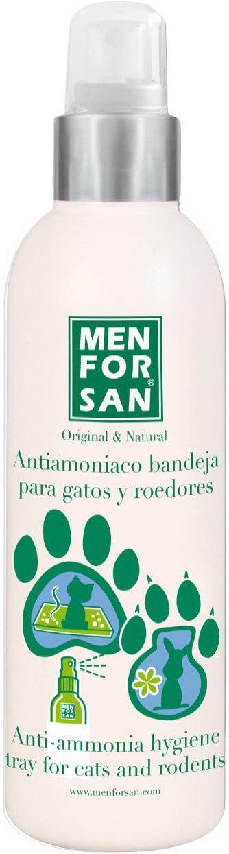MENFORSAN  Antiamoniaco Bandeja de Gatos Y Roedores - 125 ml
