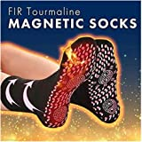 Self Heating Therapy Magnetic Socks Tourmaline Magnetic Unisex winter warm socks for massage Skiing