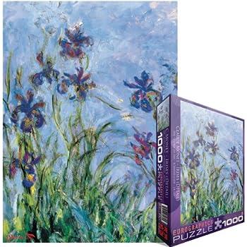 Eurographics Irises by Claude Monet 1000-Piece Puzzle