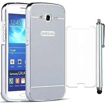 Sunnycase® Samsung Galaxy Grand 2 G7106 5.25 pulgadas Funda protectora Carcasa Aluminio Trasera protectora Premium PC Bumper Ultra Delgado slim hard ...