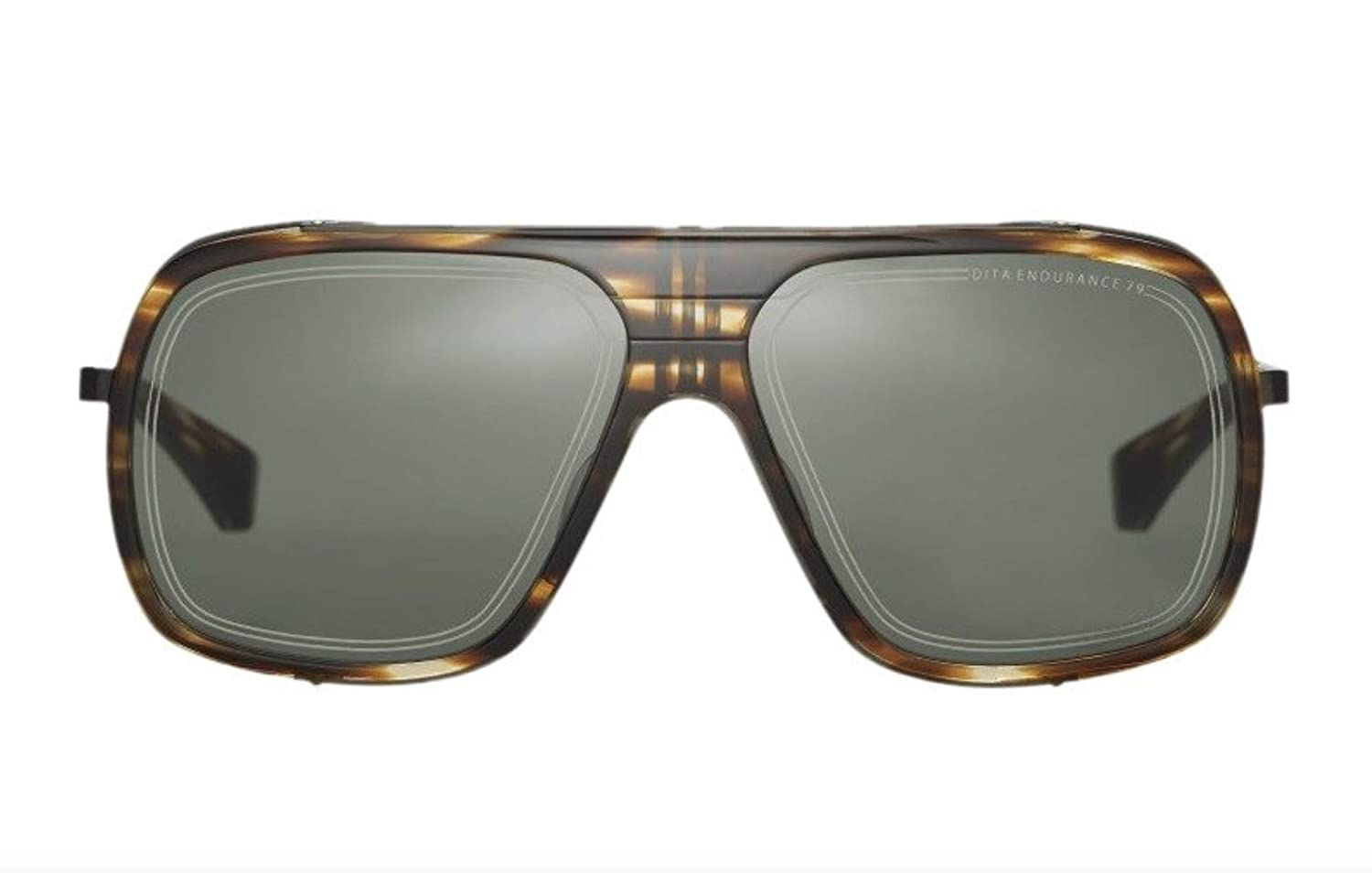 59c92866216 Sunglasses Dita ENDURANCE 79 DTS 104 02 Blackwood-Black Iron w  G15 AR at  Amazon Men s Clothing store