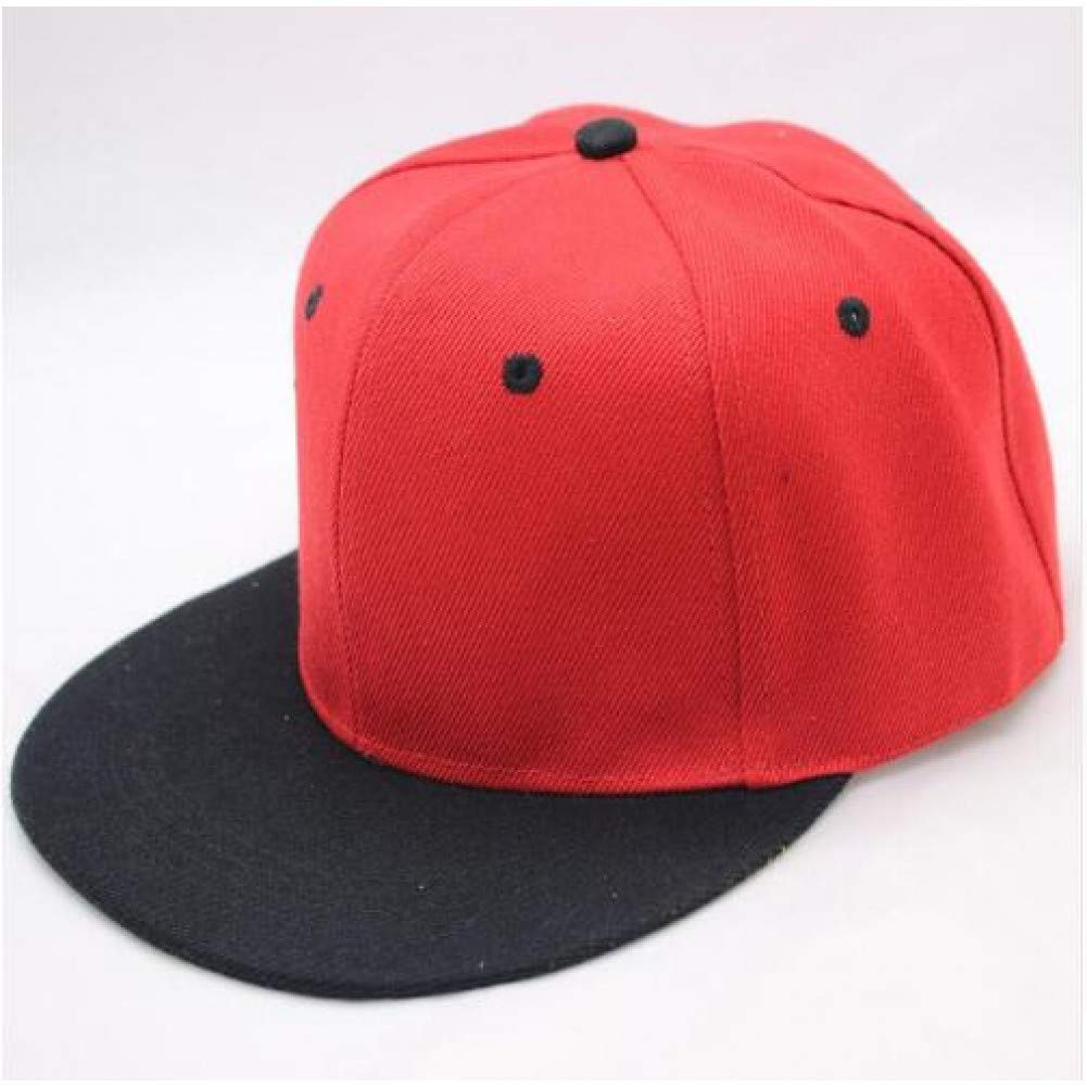 WYKDA Venta al por Mayor Hip Hop Gorra Lisa Plana Adulto Color ...