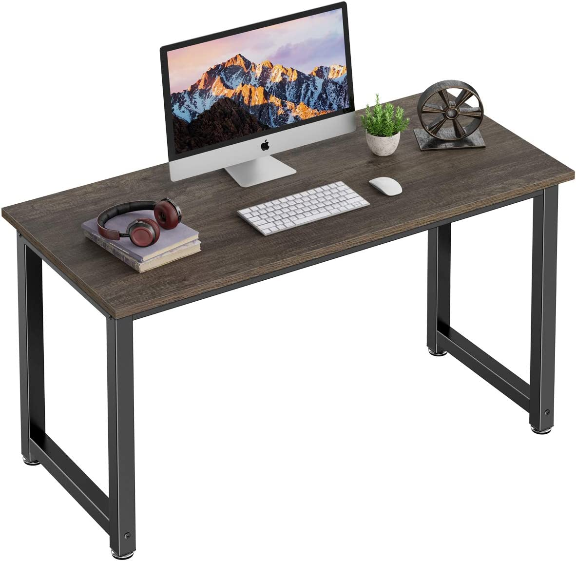 Homemaxs Computer Desk, 47-inch Spacious Computer Table for Home Office, Small Computer Desk for Small Spaces, Bedroom, and Study