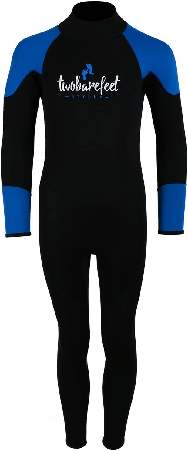 Mikes Diving MD STROBE 2MM FULL LENGTH JUNIOR KIDS WETSUIT by Two Bare Feet Age 4-16