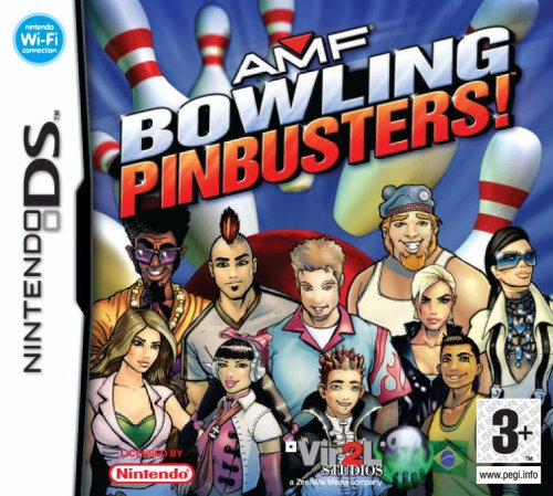 Amf Bowling Pinbusters Nds Uk Import Video Games Amazon Com