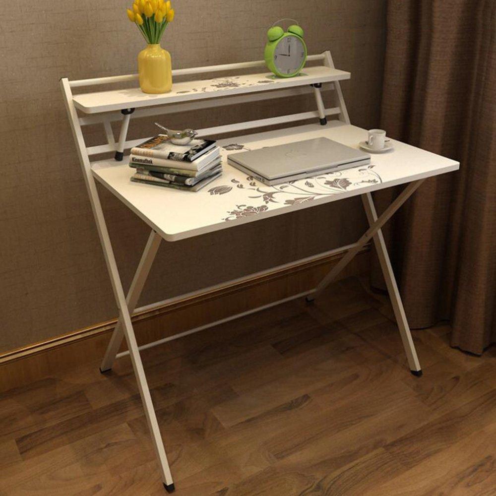 XIAOLIN 無料のインストール折りたたみテーブルシンプルな家庭用コンピュータデスクノートブックテーブル簡単なデスクブックテーブルは、色を選択することができます (色 : 03) B07D5711WW3
