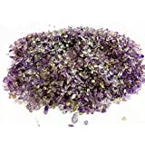 NewDreamWorld's 2-4mm tiny amethystine gravels, natural amethyst for Marimo terrarium kit accessories ,jewelry supplies (5OZ)