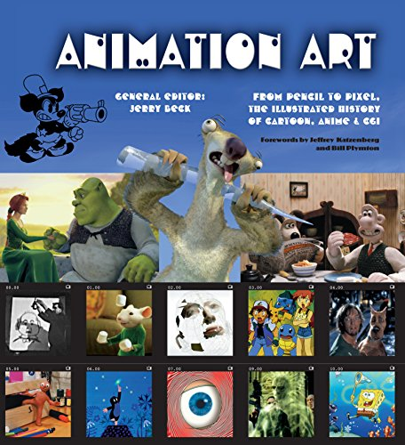 - Animation Art (eBook): From Pencil to Pixel, the illustrated History of Cartoon, Anime & CGI (Illustrated Digital Editions)