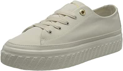 Tommy Hilfiger Shiny Flatform Vulc Sneaker, Zapatillas Mujer