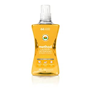 Method Laundry Detergent, Ginger Mango, 53.5 Ounces, 66 Loads