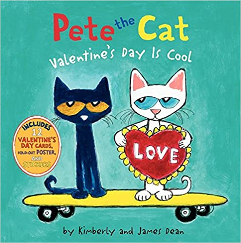Pete the Cat Valentine Book