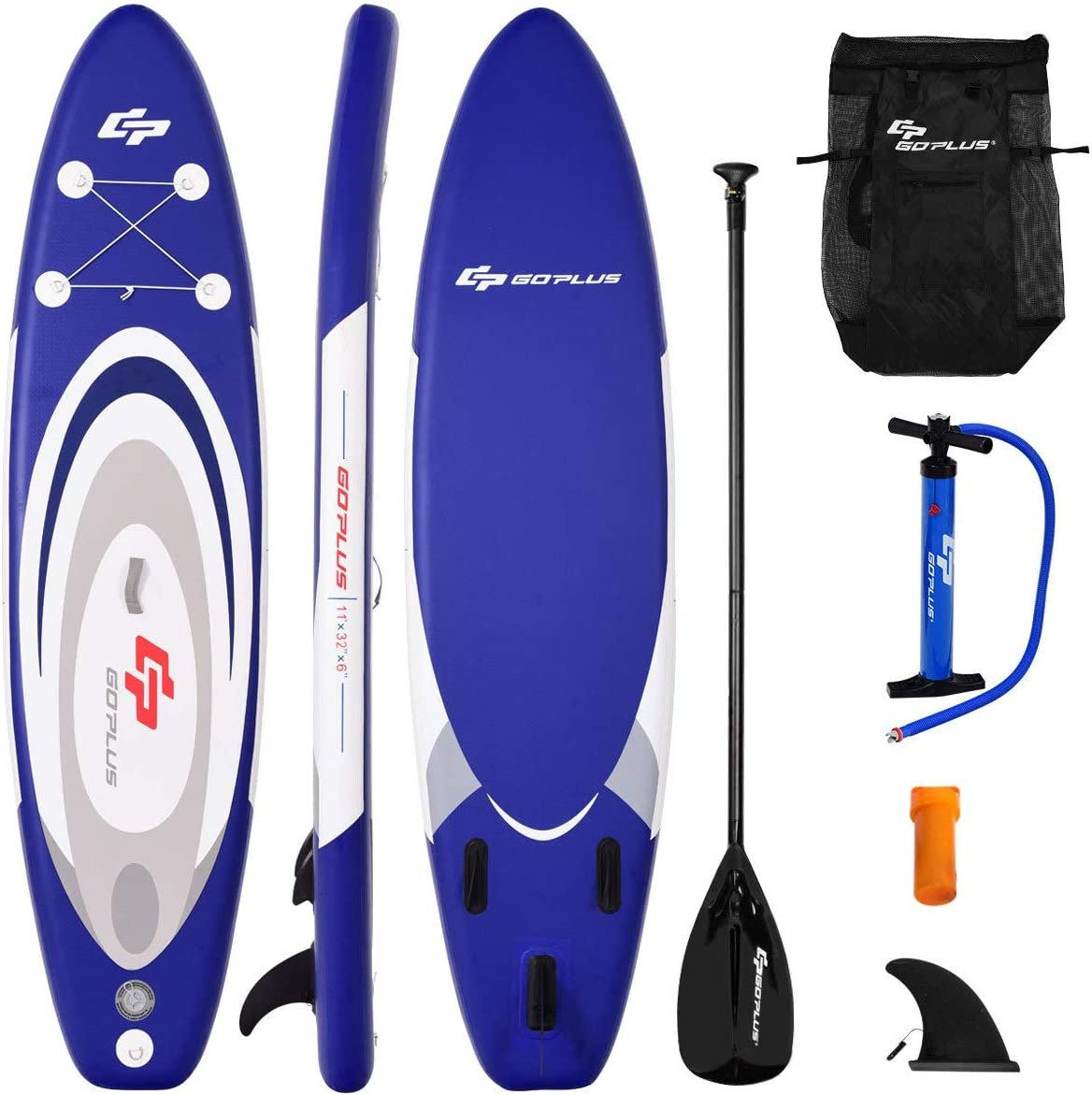 Best Goplus Inflatable Stand up Paddle Board