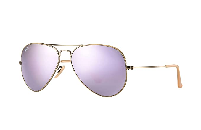 61c4eb7175 Gafas de Sol Ray-Ban Aviator Flash, RB3025 (Bronce-Cobre Lila Espejado