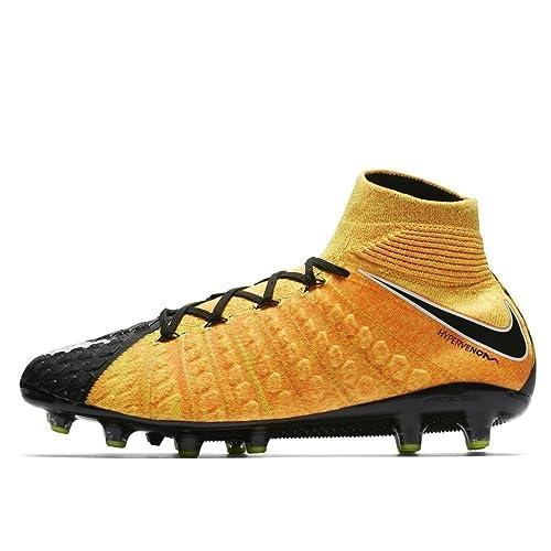 buy popular 7fd7c fce29 Nike Hypervenom Phantom 3 Dynamic Fit AG-PRO, Scarpe da Calcio Uomo,  Arancione