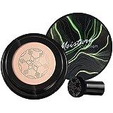 Base de cabeça de cogumelo, Air Cushion CC Cream BB Cream, corretivo hidratante, base de maquiagem brilhante de longa duração