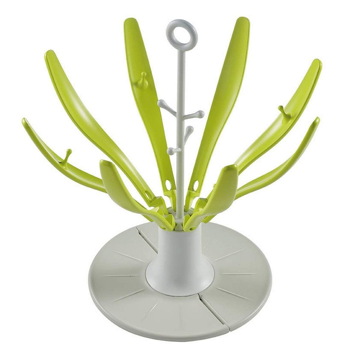 /Neon Beaba Flower Zusammenklappbares Abtropfgestell Flaschen/