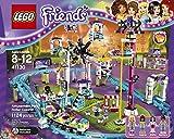 Image of LEGO Friends 41130 Amusement Park Roller Coaster Building Kit (1124 Piece)