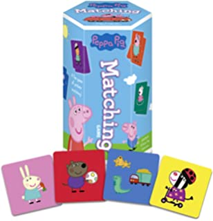 Peppa Pig Matching Game - 36 Picture Tiles - Memory Learning Game for Ages 3 and