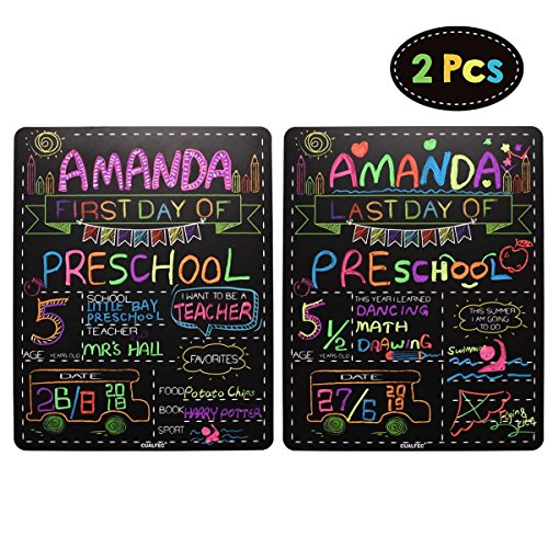 The Back To School - Personalized First Day and Last Day