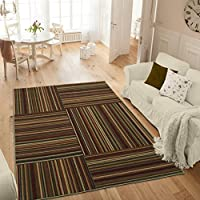 Ottomanson Studio Collection Striped Design Area Rug, 50 X 60, Multicolor