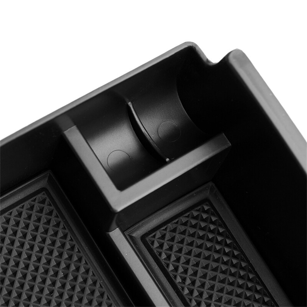 Vesul Armrest Secondary Storage Box Glove Pallet Center Console Tray Compatible with Ford Explorer 2012 2013 2014 2015 2016 2017 2018